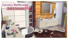 Dinha Gamer: Luxury Bathroom • Sims 4 Downloads