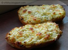 A megunhatatlan melegszendvics | Baked Potato, Potatoes, Baking, Ethnic Recipes, Eat, Drink, Food, Beverage, Potato