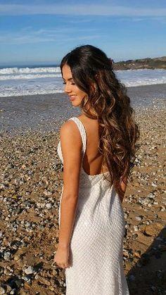 Wedding half up half down hairstyle - - Long Bridal Hair, Half Up Wedding Hair, Wedding Hair And Makeup, Beach Bridal Hair, Veil Hair Down, Bride Hair Down, Bridal Hair Half Up With Veil, Bride Hairstyles With Veil, Wedding Hairstyles For Long Hair