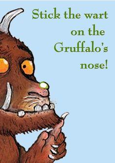 Made By Bronwyn: Austin's Gruffalo birthday party - the games
