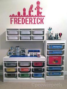 Lego Organizer Lego Storage Lego Sorter Lego Decals Lego #legos #storage #ad