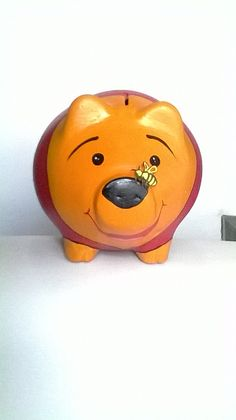 Alcancia winnie pooh Little Kitty, This Little Piggy, My Little Pony, Pig Bank, Personalized Piggy Bank, Piggly Wiggly, Budget Organization, Mixed Media Tutorials, Cute Piggies