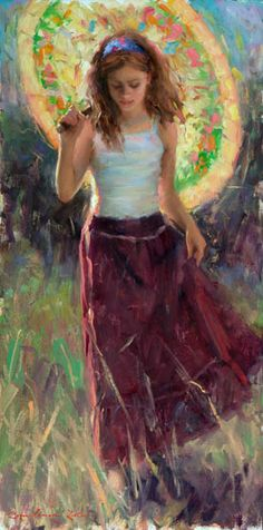 Paintings of children, artwork of Bryce Cameron Liston - BRYCE CAMERON LISTON