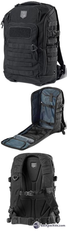 Cannae Legion Day Pack MOLLE Backpack - Goruck GR1 Alternative - Learn more at backpackies.com