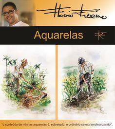 #Aquarelasdeflavioribeiro