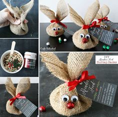You will love this adorable Reindeer Washcloth Christmas Craft and it makes the perfect Christmas Gift Idea. Check out the video tutorial now. Christmas Crafts For Gifts, Homemade Christmas Gifts, Perfect Christmas Gifts, Christmas Projects, Craft Gifts, Diy Gifts, Christmas Time, Christmas Decorations, Christmas Ornaments