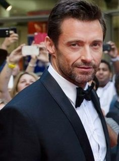 hugh could have easily played James Bond dressed like this