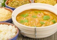 أسهل طريقة لعمل شوربة الجمبري الحارة Rice Recipes, Seafood Recipes, Vegan Recipes, Guisado, Bisque Recipe, Seafood Stew, Vegetable Stew, Saveur, Favorite Recipes