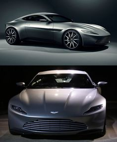 """There's a new James Bond 007 movie called """"Spectre."""" You know what that means! New James Bond car! Here's the Aston Martin DB10."""