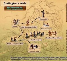 Ludington's Ride Home Page