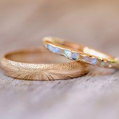 Opal Fossil Ring in Gold // Hidden Gems – Gardens of the Sun