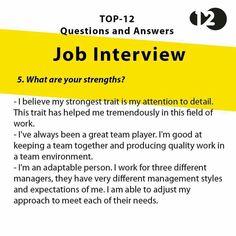 Job Interview Questions Part 5 Job Interview Preparation, Interview Skills, Interview Questions And Answers, Job Interview Tips, Job Interviews, Job Resume, Resume Tips, Resume Help, Resume Skills