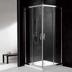 """34"""" x 34"""" Alina Square Corner Shower Enclosure"""