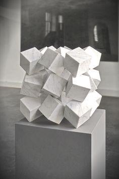 KLAAS VERMASS cubes sculpture - Geometric                                                                                                                                                      More