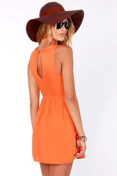 Orange Dress I actually like
