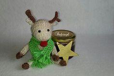 Renifer./ Reindeer. https://robotkistefci.wordpress.com/2016/03/03/renifer-reindeer/ #reindeer #renifer #stefciapl #knitting #robienienadrutach #knitreindeer #letsknit