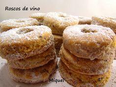 Les receptes del Miquel: Nevaditos y roscos de vino con AOVE