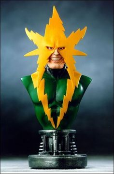 BOWEN MARVEL ELECTRO MINI BUST STATUE SPIDER MAN COMIC MOVIE FIGURE MIB