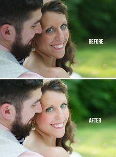 Editing portraits in Lightroom using skin brushes #lightroom #twoblooms