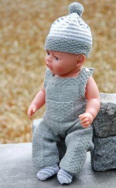 knitted dolls Strikke dukkeklr til Baby born Knitting Dolls Clothes, Knitted Dolls, Doll Clothes Patterns, Baby Born Clothes, American Girl Clothes, Baby Knitting Patterns, Baby Patterns, Baby Clothes Storage, Bitty Baby