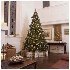 festive 10ft pre lit colorado spruce christmas tree with warm white led lights 10ft christmas