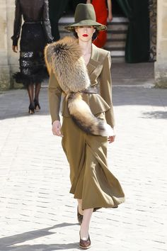 Ulyana Sergeenko Fall 2017 Couture Fashion Show Collection
