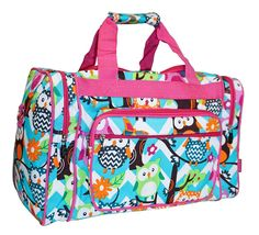 N Gil Designer Print Collection Duffle Bag 16-Inch -- Quickly view this special  product, click the image : Christmas Luggage and Travel Gear