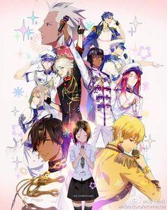 uta no Fate/Zero-sama XD Fate/stay Night, Gilgamesh Fate, Fate Stay Night Anime, Fate Servants, Fate Anime Series, Uta No Prince Sama, Fate Zero, Anime Guys, Anime Characters