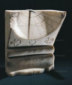 Sundial, 1st century A.D. Soprintendenza Speciale per i Beni Archeologici di Napoli e Pompei, inv. 71257