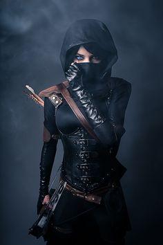 Steampunk style ~ Female Garrett of Thief by Lyz Brickley