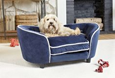 Enchanted Home Pet Large Ultra Plush Snuggle Bed - Navy - Dog Beds at Hayneedle Pet Furniture, Luxury Furniture, Snuggle Dog, Puppy Supplies, Cool Dog Beds, Enchanted Home, Animal Rescue Site, Pet Beds, Snuggles