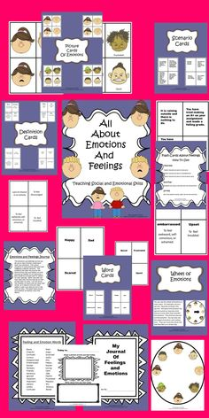 Do your students have a hard time understanding their feelings and their classmates feelings? This is a teacher time saver that may be the solution.  Julie
