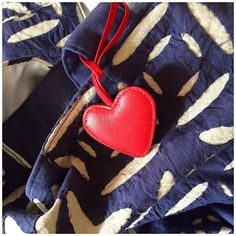 FedoraMi heart charm