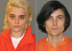 Sky Ferreira, left, and boyfriend Zachary Cole Smith of indie band DIIV - both models turned singers, charged with criminal possession of a controlled substance (heroin and ecstasy)