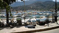 Places to see in ( Port de Soller - Spain )  Port de Sóller is a village and the port of the town of Sóller in Mallorca in the Balearic Islands Spain. Along with the village of Fornalutx and the hamlet of Biniaraix they combine to form Sóller.  A tramway
