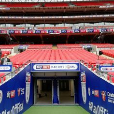 Just walked down the tunnel at Wembley. Not quite how I dreamt I would when I was 8 but it will do.
