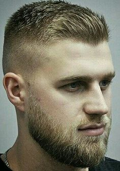 Short Hair With Beard, Short Hairstyles For Thick Hair, Very Short Hair, Hair And Beard Styles, Hairstyles Haircuts, Short Hair Cuts, Curly Hair Styles, Stylish Hairstyles, Hair Clipper Sizes