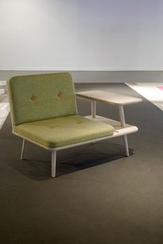 Laptop, Lounge chair by Rasmus Fenhann
