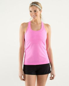 RUN:Swiftly Racerback - hands down my new FAVE workout tank.  Have it in green and purple, want it in every other color.  Size 10.