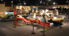 Perhaps the weirdest museum in Houston, the National Museum of Funeral History is pretty cool, actually.   Info on JFK's eternal flame, coffins shaped like cows, boats and crabs, and a giant burial chicken make this a cool and different place to take your friends for an unusual trip to the other side.