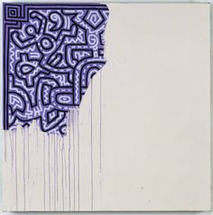 Keith Haring, Unfinished Painting