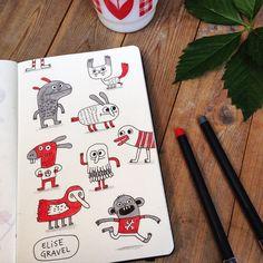 Elise Gravel illustration - Поиск в Google