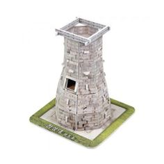 Paper Toy Scale Model Kit for Kids Adult - Korea ancient Observatory