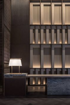 Inter Continental Xi'an North | CCD/Cheng Chung Design (HK) | Media - Photos and Videos | Archello Lobby Interior, Luxury Interior, Interior Design, Lobby Reception, Reception Counter, Hotel Lobby, Lobby Lounge, Hotel Lounge, Hotel Pool