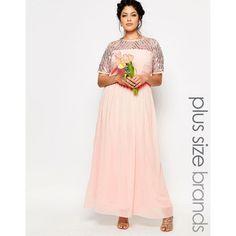 Shop Lovedrobe Luxe Chiffon Embellished Maxi Dress at ASOS.