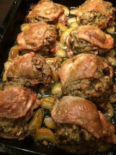 Töltött csirkecomb Yummy Chicken Recipes, Baby Food Recipes, Meat Recipes, Dinner Recipes, Cooking Recipes, Healthy Recipes, Good Food, Yummy Food, Hungarian Recipes
