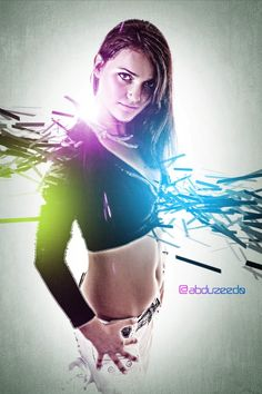 Today I would like to show how to design a beautiful & stylish light effects in Photoshop. In this tutorial we will teach you how to make some nice light effects mixed with a girl photo over a light background. Light Effect Photoshop, Effects Photoshop, Cool Photoshop, Photoshop Illustrator, Illustrator Tutorials, Photoshop Tutorial, Photoshop Actions, Photoshop Ideas, Digital Art Tutorial