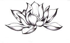 lotus tattoo black and white - Sök på Google