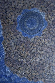Check out this latest offering of Australian Aboriginal Art  by Sarrita King / Waterholes is the title of the work.  Click on the artwork  to view more images and information on this piece and over 1000 other paintings from many of the best Aboriginal artists from Australia.   Thanks