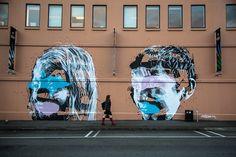 #portraiture #askewone #muralist #largescalemurals #postgraffiti #postdigital #graffiti #elliotodonnell #interiordesign #painting Banksy, Graffiti, Public Art, Painting, Imagery, Muralist, Art, Wall Painting, Street Art